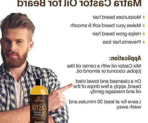 Comment utiliser l'huile de ricin pour faire pousser la barbe ?