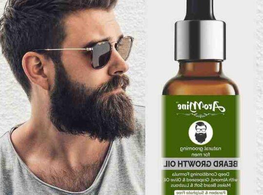 Quelle huile fait pousser la barbe ?